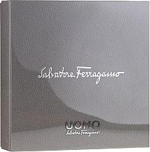 Düfte, Parfümerie und Kosmetik Salvatore Ferragamo Uomo - Duftset (Eau de Toilette 100ml + Eau de Toilette 10ml + Duschgel 100ml)