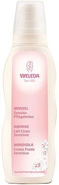 Beruhigende Körperlotion mit Mandelöl für empfindliche Haut - Weleda Mandel Sensitiv Pflegelotion — Bild N1