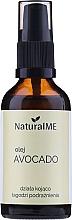 Düfte, Parfümerie und Kosmetik Beruhigendes Avocadoöl gegen Reizungen für Körper, Gesicht und Haar - NaturalME (mit Pumpenspender)