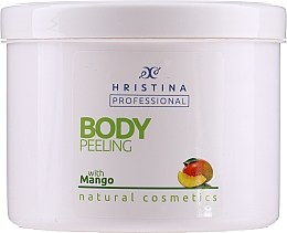 Düfte, Parfümerie und Kosmetik 100% Natürliches Körperpeeling mit Mangoöl - Hristina Professional 100% Natural Mango Body Peeling