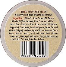 Anti-Falten Kräutercreme für das Gesicht - Sattva Ayurveda Anti-Wrinkle Cream — Bild N3