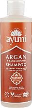 Düfte, Parfümerie und Kosmetik Pflegendes Haarshampoo mit Argan und Sandelholz - Ayumi Argan & Sandalwood Shampoo