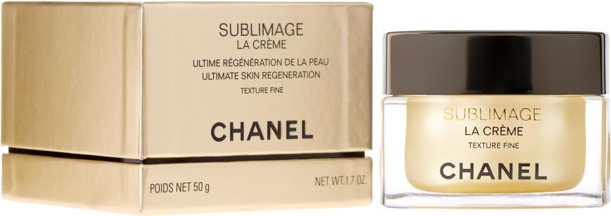 Ultimative Regeneration der Gesichtshaut mit leichter Textur - Chanel Sublimage La Creme Texture Fine