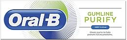Düfte, Parfümerie und Kosmetik Reinigende Zahnpasta gegen Plaque - Oral-B Gumline Purify Deep Clean Toothpaste