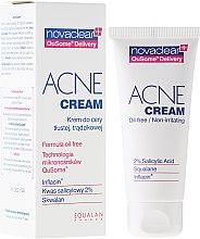 Düfte, Parfümerie und Kosmetik Ölfreie Anti-Akne Gesichtscreme gegen Reizungen - Novaclear Acne Cream Oil-free