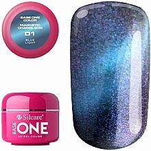 Düfte, Parfümerie und Kosmetik UV-Nagelgel - Silcare Base One Magnetic Chameleon UV Gel Color