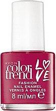 Düfte, Parfümerie und Kosmetik Nagellack - Avon Color Trend Love