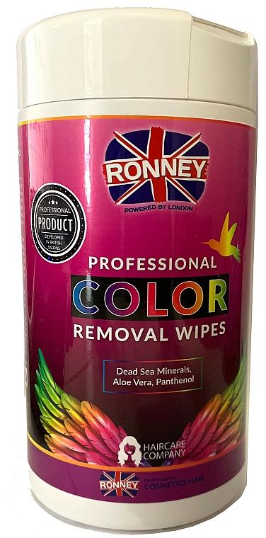Tücher zur Entfernung von Farbflecken von der Haut - Ronney Profesional Color Removal Wipes