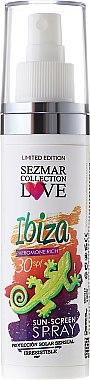 Sonnenschutzspray Ibiza SPF 30 - Hristina Cosmetics Sezmar Collection Ibiza — Bild N1