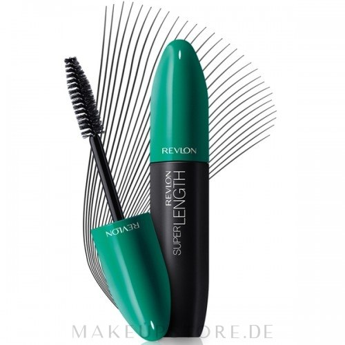 Wasserdichte Wimperntusche - Revlon Super Length Waterproof Mascara — Bild 151 - Blackest Black