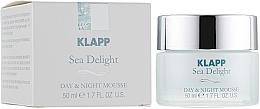 Pflegende Gesichtsmousse für Tag und Nacht mit Algen - Klapp Sea Delight Day & Night Mousse — Bild N1