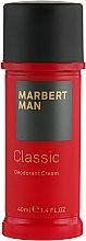Düfte, Parfümerie und Kosmetik Deo-Creme - Marbert Man Classic Deodorant Cream