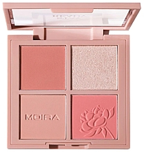 Düfte, Parfümerie und Kosmetik Make-up Palette - Moira Stay Ready Face Palette
