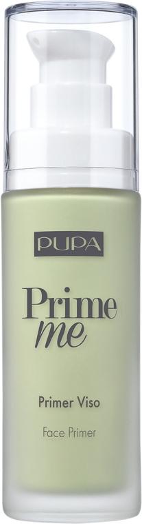 Gesichtsprimer zur Neutralisierung der Hautröte - Pupa Prime Me Corrective Anti-Redness Face Primer — Bild N1