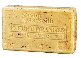 Düfte, Parfümerie und Kosmetik Marseiller Seife Orange und Grüntee - Le Chatelard 1802 Savon de Marseille Orange Flower Green Tea