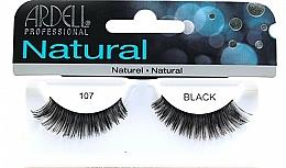 Düfte, Parfümerie und Kosmetik Künstliche Wimpern - Ardell Natural Eye Lashes Black 107