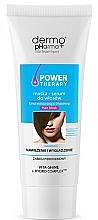 Düfte, Parfümerie und Kosmetik Feuchtigkeitsspendende und glättende Haarmaske - Dermo Pharma Power Therapy Deep Moisturizing & Smoothing Hair Mask