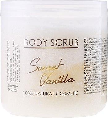 Körperpeeling Sweet Vanilla - Hristina Cosmetics Sezmar Professional Body Scrub Sweet Vanilla — Bild N1