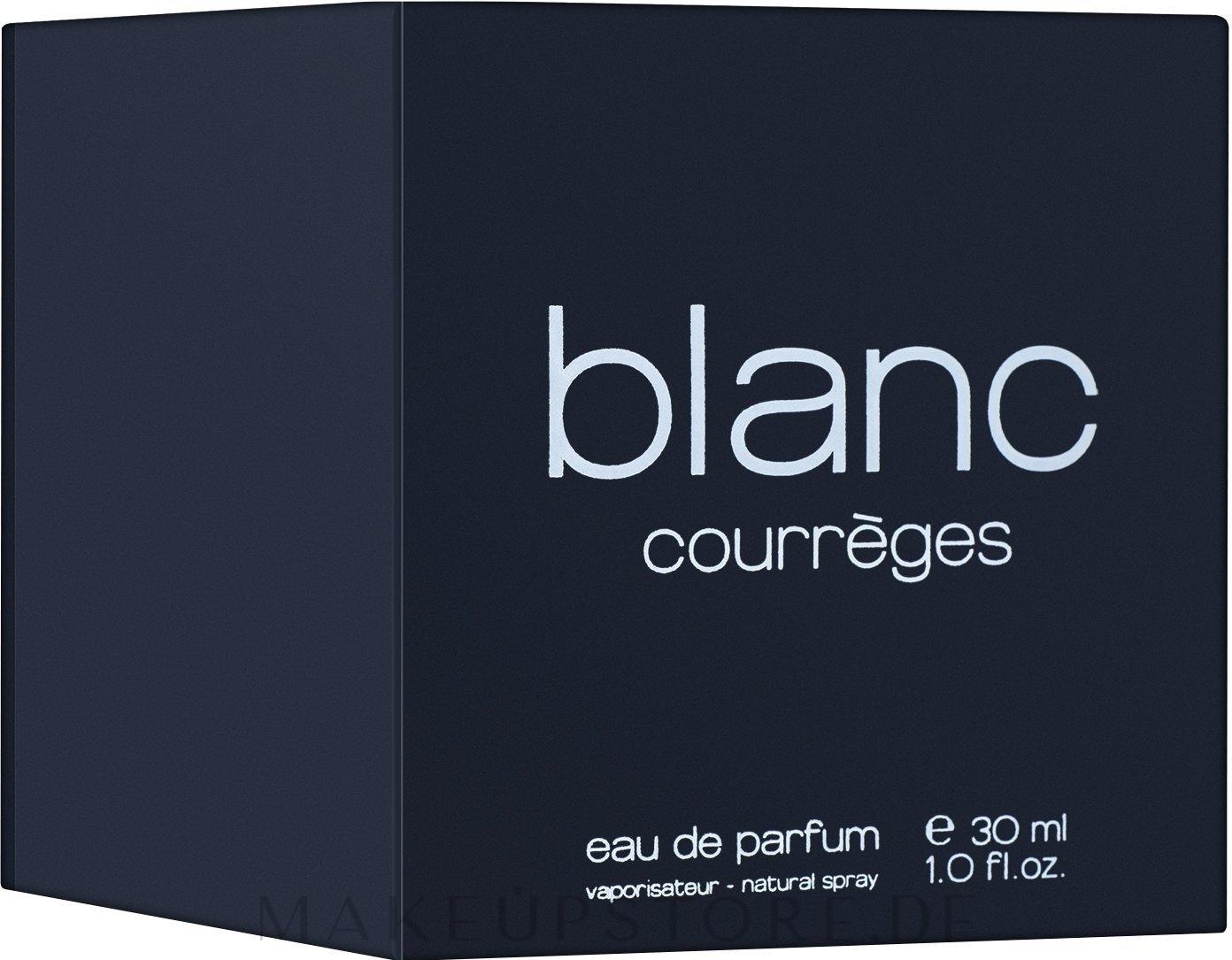 Courreges Blanc de Courreges - Eau de Parfum — Bild 30 ml
