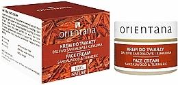 Düfte, Parfümerie und Kosmetik Gesichtscreme mit Sandelholzöl und Kurkumaextrakt - Orientana Face Cream Sandalwood & Turmeric