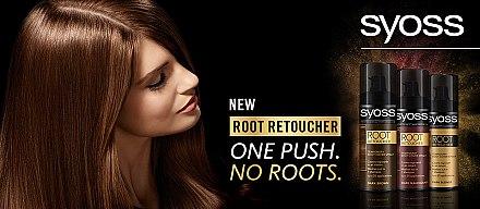 Sofort Ansatz-Kaschierspray - Syoss Root Retoucher Spray — Bild N3