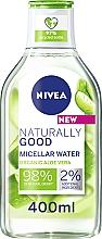 Düfte, Parfümerie und Kosmetik Mizellen-Reinigungswasser mit Aloe Vera - Nivea Naturally Good Micellar Water Organic Aloe Vera