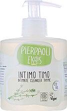 Düfte, Parfümerie und Kosmetik Antibakterielle Intimwaschlotion mit Thymian - Ekos Personal Care Thyme Intimate Cleanser (Dispenser)