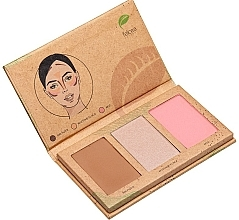 Düfte, Parfümerie und Kosmetik Make-up-Palette - Felicea Natural Trio Palette