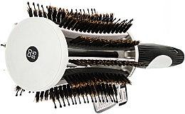 Professionelle Vent-Rundbürste 55 mm - Olivia Garden Thermo Active Ionic Boar Combo Brush 55 — Bild N2