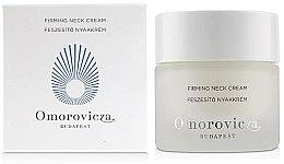 Düfte, Parfümerie und Kosmetik Straffende Anti-Aging Hals- und Dekolletécreme mit Hyaluronsäure - Omorovicza Firming Neck Cream