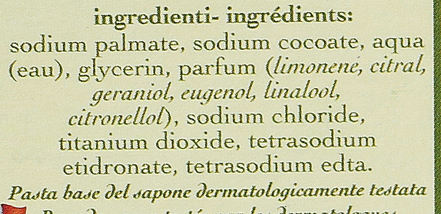 Naturseifen Geschenkset 6 St. - Saponificio Artigianale Fiorentino Lemon (6x50g) — Bild N4