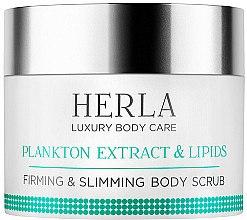 Düfte, Parfümerie und Kosmetik Straffendes Körperpeeling mit Plankton-Extrakt und Lipiden - Herla Luxury Body Care Plankton Extract & Lipids Body Mask