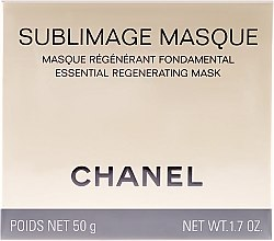 Düfte, Parfümerie und Kosmetik Regenerierende Gesichts- und Halsmaske - Chanel Sublimage Masque