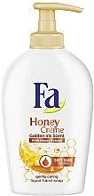Düfte, Parfümerie und Kosmetik Cremige Flüssigseife mit Honigextrakt - Fa Honey Creme Golden Iris Hand Soap