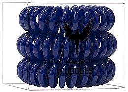 Düfte, Parfümerie und Kosmetik Haargummis 3 St. - HH Simonsen Hair Cuddles Dark Blue