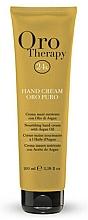 Nährende Handcreme mit Arganöl - Fanola Oro Therapy Hand Cream Oro Puro — Bild N1