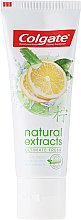 Zahnpasta Natural Extracts Ultimate Fresh - Colgate Natural Extracts Ultimate Fresh Lemon — Bild N2