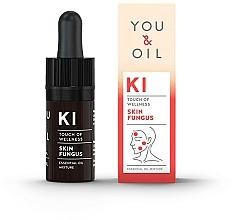 Düfte, Parfümerie und Kosmetik Bioaktive ätherische Ölmischung gegen Hautpilz - You & Oil KI-Skin Fungus Touch Of Welness Essential Oil
