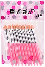 Düfte, Parfümerie und Kosmetik Lidschatten-Applikator-Set rosa - Fashion Cosmetic
