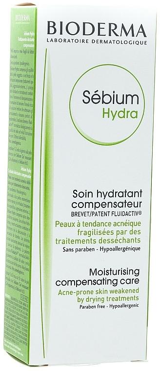 Feuchtigkeitsspendende Gesichtscreme für zu Akne neigende Haut - Bioderma Sebium Hydra Moisturising Cream — Bild N4