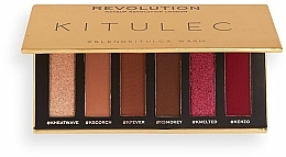Make-up Set (Lidschattenpalette 2x7.8g) - Makeup Revolution Kitulec #BlendKitulca Shadow Palette — Bild N8