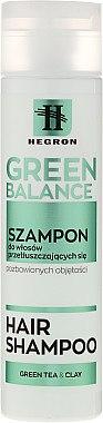 Ausgleichendes Shampoo für fettiges Haar - Hegron Green Balance Hair Shampoo — Bild N1