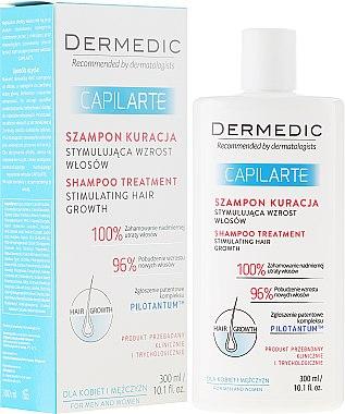 Shampoo-Kur zur Stimulierung des Haarwachstums - Dermedic Capilarte Shampoo — Bild N1