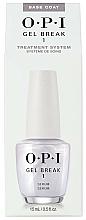 Düfte, Parfümerie und Kosmetik 2in1 Gel Nagelunterlack und Serum - O.P.I Gel Break Serum Base Coat