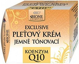 Belebende Gesichtscreme mit Arganöl und Coenzym Q10 - Bione Cosmetics Exclusive Gentle Toning Facial Cream With Argan Oil Q10 — Bild N1
