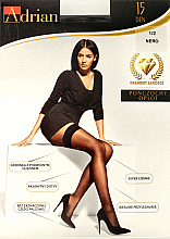 Lange Damenstrümpfe Oplot 15 Den Nero - Adrian — Bild N1