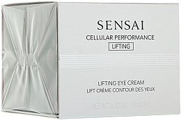Düfte, Parfümerie und Kosmetik Augenlifting-Creme - Kanebo Sensai Cellular Performance Lifting Eye Cream