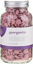 Düfte, Parfümerie und Kosmetik Zahnreinigungstabletten-Wilder Thymian - Georganics Mouthwash Tablets Wild Thyme