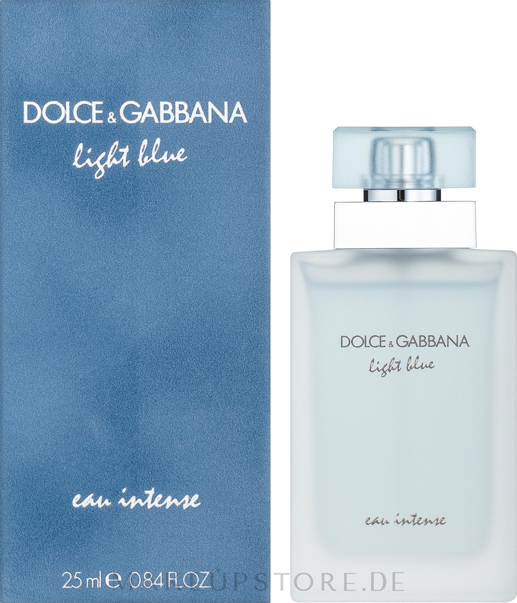 Dolce & Gabbana Light Blue Eau Intense - Eau de Parfum — Bild 25 ml