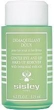 Make-up-Entferner für Augen und Lippen mit botanischen Extrakten - Sisley Gentle Eye And Lip Make-Up Remover With Botanical Extracts — Bild N1